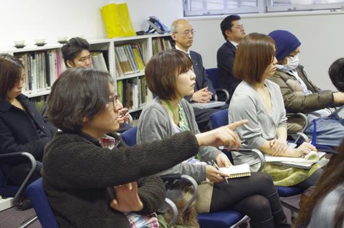 勉強会を企画してくれた川崎シツチョーも参加