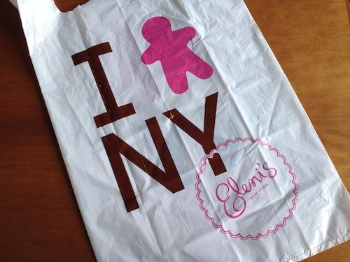 Eleni's NYのショップバッグ