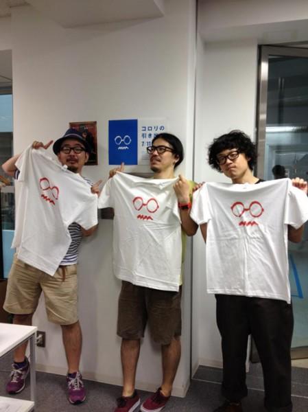 """熊田くんデザインの""""コロリさんロゴ""""でTシャツを"""