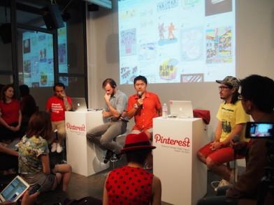 Pinterest Design Night TokyoでのFireside Chat